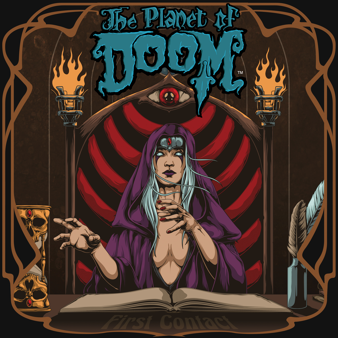 Riff Lodge Animation  The Planet of DOOM – An Animated Tale in Metal